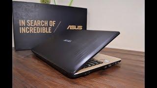 Asus x540U Vivobook 8th Generation Gaming Laptop Review 2019
