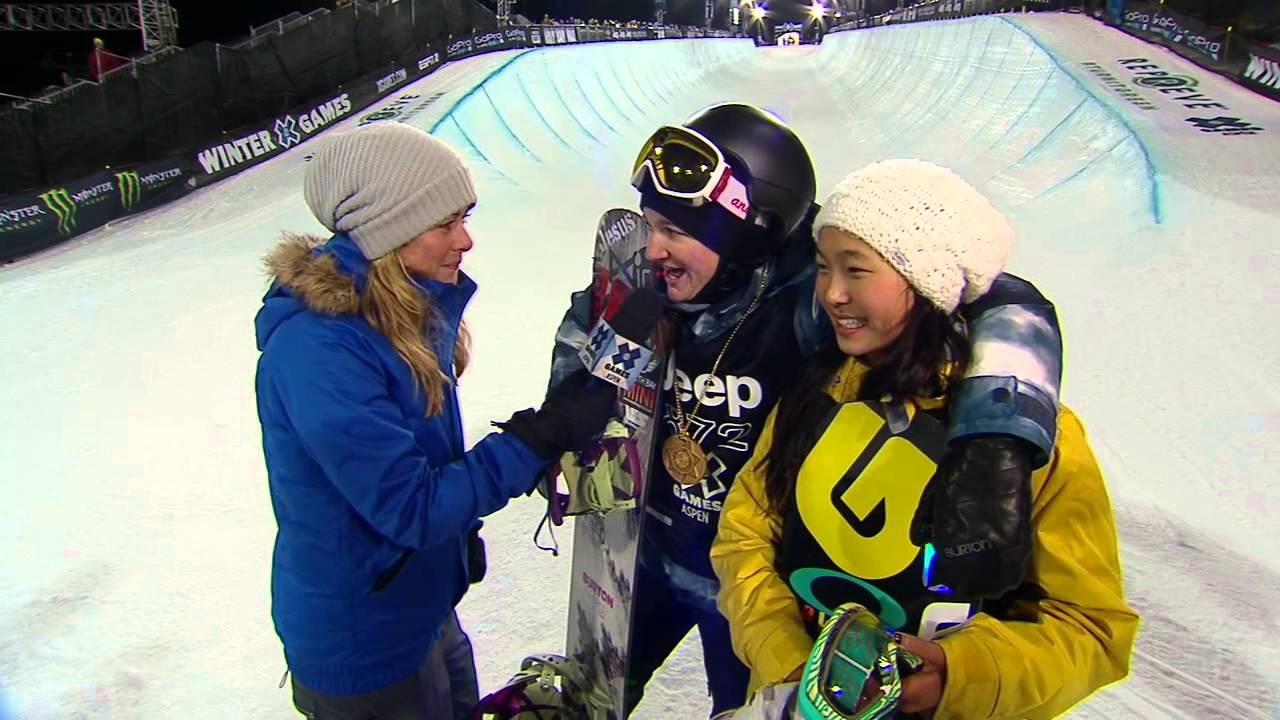 4-Peat Gold Medalist Kelly Clark Praises Silver Medalist Chloe Kim #1