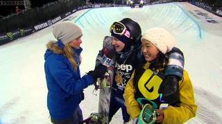 4-Peat Gold Medalist Kelly Clark Praises Silver Medalist Chloe Kim