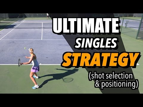 Tennis Singles Strategy - Tactics and Positioning - How To Play Singles