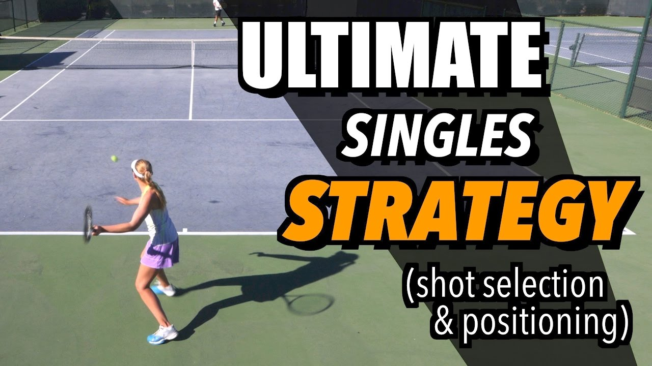 Tennis Singles Strategy Tactics And Positioning How To Play