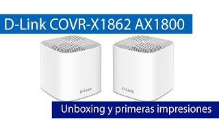 D-Link COVR-X1862: Conoce este WiFi Mesh con WiFi 6 AX1800, WPA3 y puertos Gigabit Ethernet