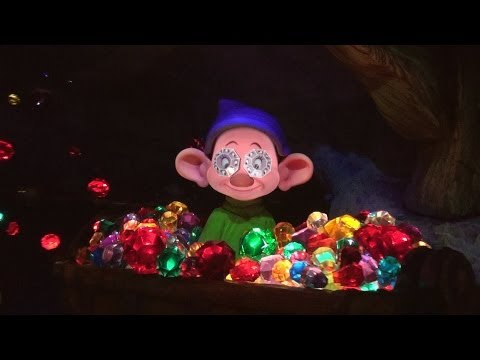 On Ride - Ultimate SEVEN DWARFS MINE TRAIN - Multi Angle PANDAVISION - New Fantasyland Coaster