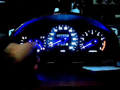 Lanos dashboard RGB arrows - YouTube