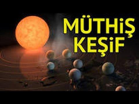 Exoplanet Discovery Nedir ? - Yaşanabilir 7 Yeni Gezegen Keşfedildi