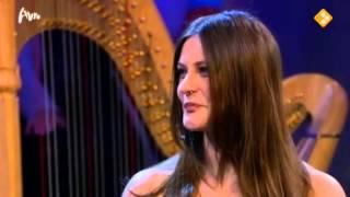 Floor Jansen interview (with subtitles!) and Puccini Aria Live in Tiende van Tijl 2013-1-2