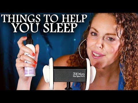 Tips For Better Sleep and Falling Asleep – ASMR Sounds, Health & Wellness Coach Whisper Ear to Ear