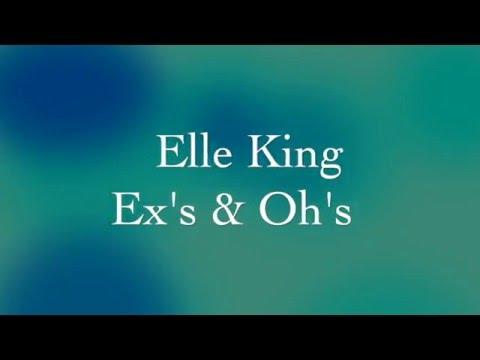 Elle King - Ex's & Oh's Lyrics