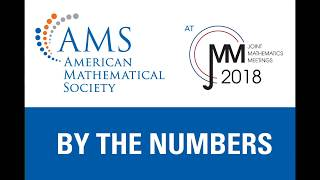 AMS at JMM 2018: By the Numbers thumbnail