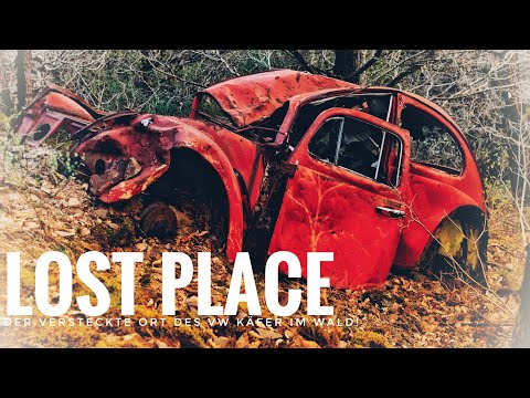 Der Versteckte Ort Des VW Käfer Im Wald! Verlassene Orte Lost Place - Daily Vlog Deutsch