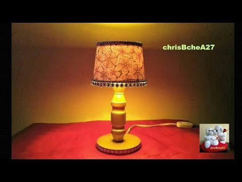 DIY# 47 Mini Lampshade Made Of Recycled Materials Best Out Of Waste
