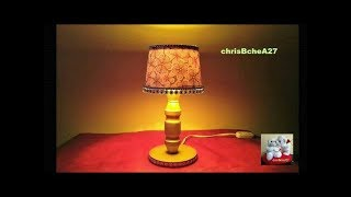 DIY#47 Mini Lampshade Made Of Recycled Materials Best Out Of Waste