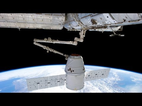 SpaceX's Dragon capsule departs from International Space Station