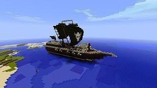 Minecraft-Морской бой #1 первая битва