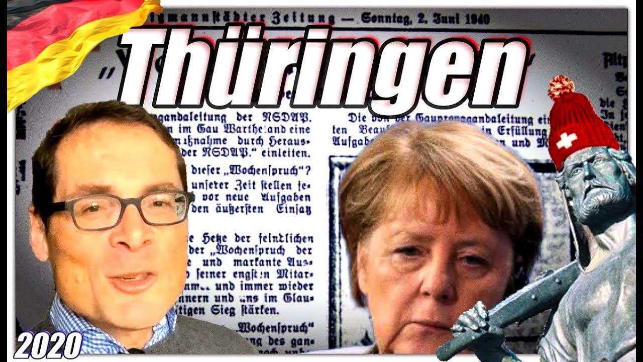 Thüringen   Roger Köppels scharfer Blick   Strafanzeige gegen Merkel