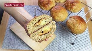 Słodkie bułki z masłem orzechowym i jabłkiem :: Skutecznie.Tv