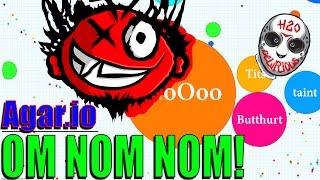 Agar.io - Gotta Eat Them All! (w/ H2O Delirious)