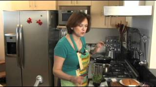 Fajitas De Pollo Con Chile Y Cilantro - Chicken Fajitas With Chile And Cilantro