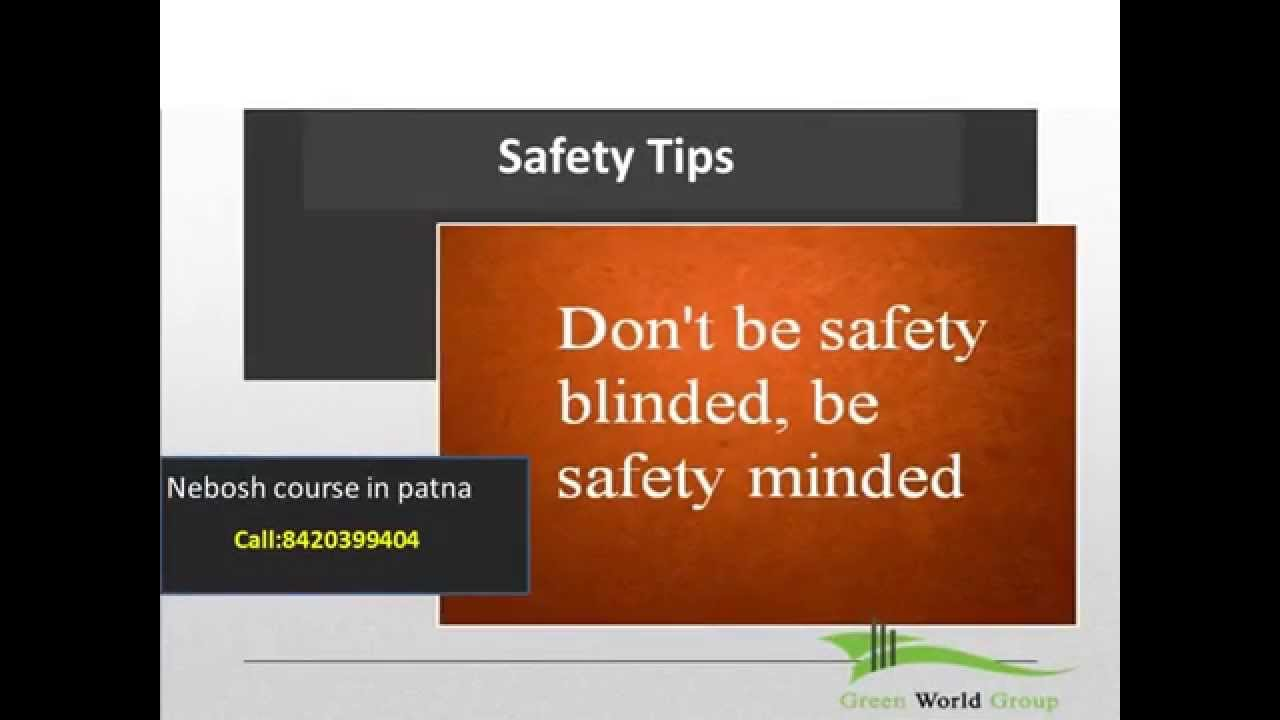 Safety Slogan By Green World Group A Pioneer Hse Institute Youtube