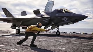 F-35B Joint Strike Fighter • 1st Realistic Ship Operations