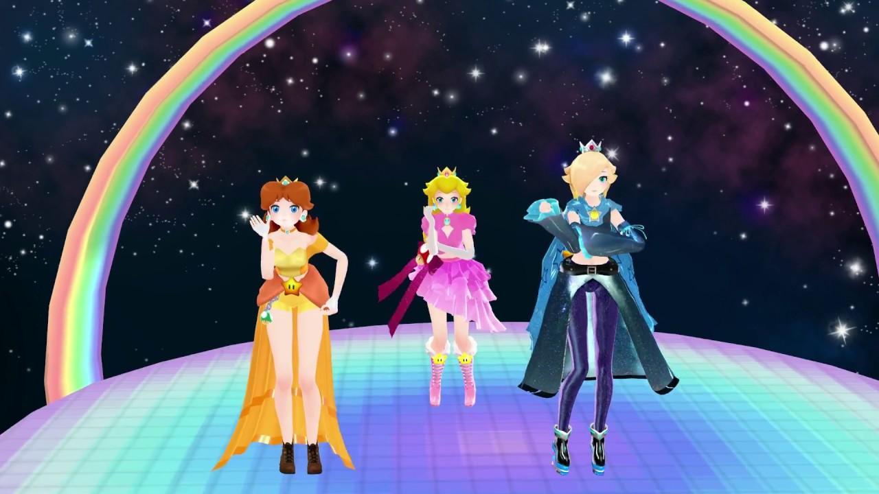 dream fighter princess peach princess daisy and princess rosalina