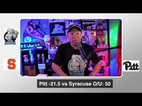 Pitt vs Syracuse 9/19/20 Free College Football Pick and Prediction  CFB Tips Week 3