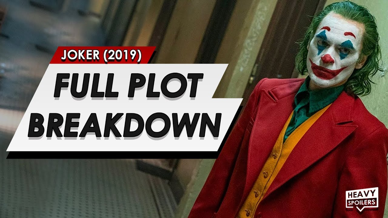 Joker Full Leaked Plot Breakdown Entire Story Spoilers