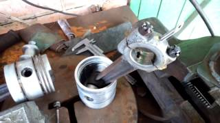Qanday kompressor bu 7b hamda bog'lovchi tayoq bilan babbit to'kib