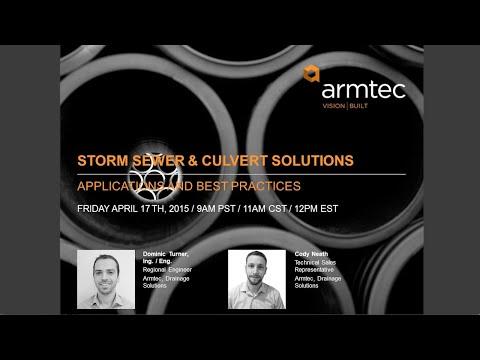 Webinar – Storm Sewer & Culvert Solutions