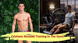 Cristiano Ronaldo Training In The Gym || Professional Soccer Players .