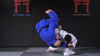 Korean Judo - Drop knee Tai otoshi