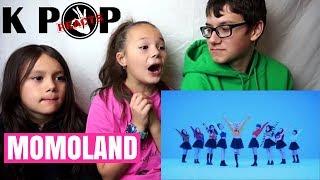 [MV] MOMOLAND (모모랜드) _ BBoom BBoom (뿜뿜) Reaction!!! (캐나다 아이들 반응)