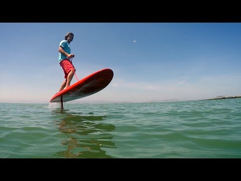 Jetfoil Surfboard Flies Above the Water | The Henry Ford's Innovation Nation