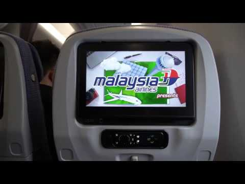 Malaysia Airlines A350 Safety Video and Welcome Announcement
