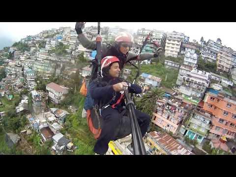 Paragliding from Darjeeling - Priyankar