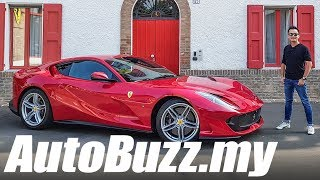Ferrari 812 Superfast V12, First Drive Review in Maranello! - AutoBuzz.my