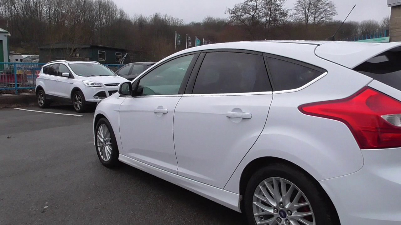 ford focus 1.6 182 ecoboost zetec s 5dr u60991 - youtube