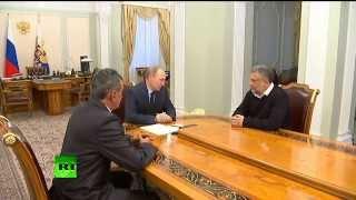 Путин о Чалом: «Вы не бюрократ, Вы — революционер!»