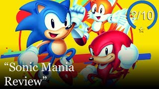 Sonic Mania PS4 Review (Video Game Video Review)