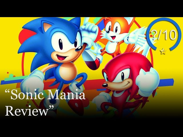 Download the hacked version of Sonic Mania for PS4 PKG