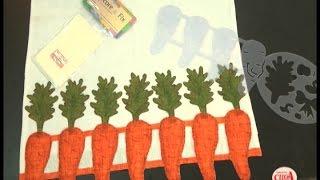 Alciana Rossi ensina usar a régua de cenoura da Isamara Custódio