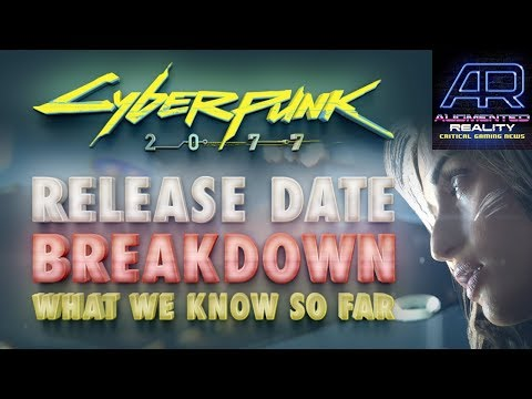 Podcast 50: Cyberpunk 2077 Release Date Breakdown (What We Know So Far) & CD Projekt Red at E3 2018