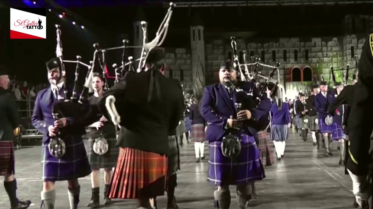 Scotland the Brave & The Black Bear (Pipes and Drums ...