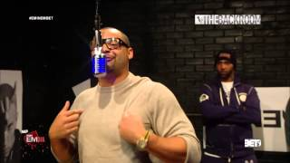 Eminem & Slaughterhouse The Backroom Freestyle On 106