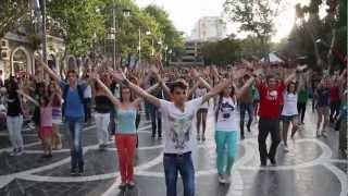DRILL Flashmob in Baku | FLASHMOB Azerbaijan