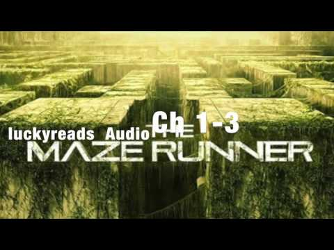 The Maze Runner audiobook Ch 1-3: Lucky Reads Audio