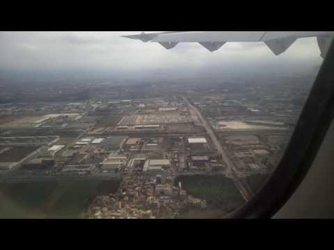 Atterrissage landing ATR at Algiers Airport