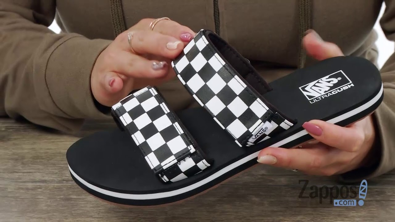 c0e55bdfd40 Vans Cayucas Slide SKU  8991159 - YouTube