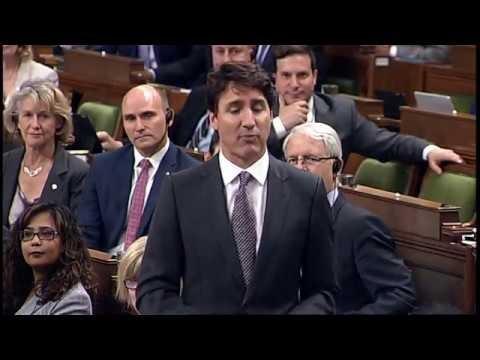 Watch: Justin Trudeau dodges questions on changing the election laws