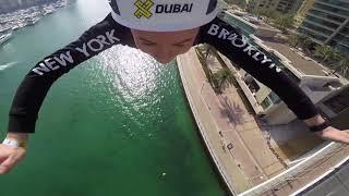 """بالفيديو- إطلاق """"إكس دبي"""" أطول خط للتزحلق بالحبال في العالم"""